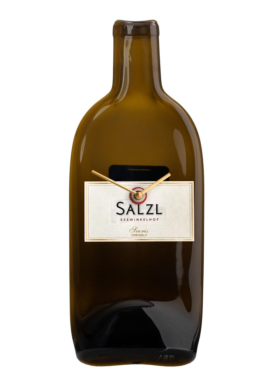 Weinflaschenuhr
